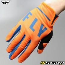 Gloves cross Fly Lite oranges