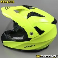 Casque enduro Acerbis Flip FS-606 jaune fluo