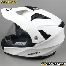 Casque enduro Acerbis Flip FS-606 blanc