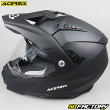 Casque enduro Acerbis Flip FS-606 noir mat