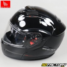 Casque modulable MT Helmets Atom SV noir brillant