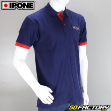 Polo Ipone 100% Motorrad blau Größe L