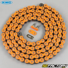 Reinforced 420 chain 132 orange KMC links