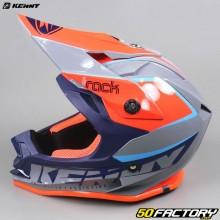 Casque cross enfant Kenny Track Focus orange et bleu