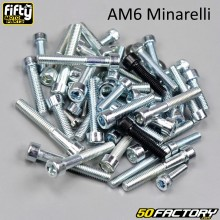 Engine fastenings kit AM6 minarelli Fifty
