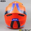 Casco cross  HJC I50 Erased MC6HSF  arancione e blu