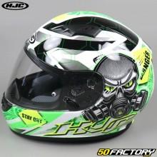 Full face helmet HJC CS-15 Rafu MC4H green and gray