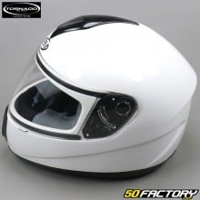Casco Integral Tornado  JST 200 blanco brillante