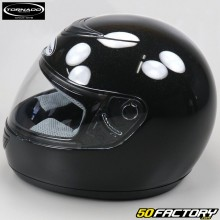 Full face helmet Tornado black glossy size XS