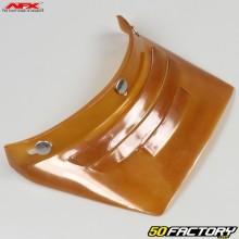 Helmet visor vintage  AFX FX-78 straight amber with 3 vents