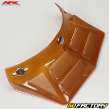 Helmet visor vintage  AFX FX-78 straight amber with 6 vents