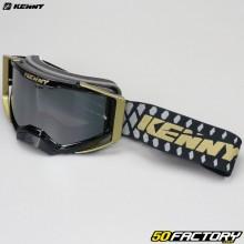 Kenny Performance máscara negra y dorada pantalla iridio plata