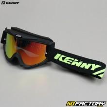 Goggles Kenny Track+ black red iridium screen