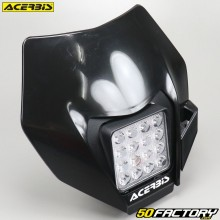 Headlight fairing  Acerbis Black Led