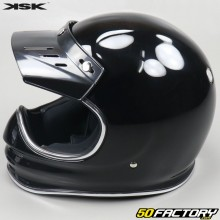 Casque cross vintage KSK Barrel noir