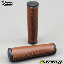 Handle grips vintage Solex (without rotating handle) 660, 1010 ... Restone Brown