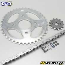 Kit chain reinforced with O-rings Spigaou Dax, TNT City 50 ... Afam gray