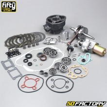 Complete engine kit AM6 Minarelli with starter Fifty