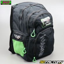Backpack Bud Racing Team Black and green