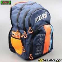 Sac à dos Bud Racing Race bleu et orange