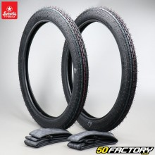 2 1 / 4-17 tires Servis Cheetah with moped air chambers