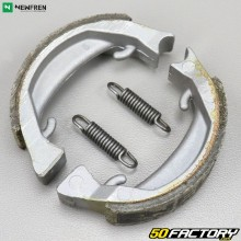 Front or rear brake shoes Peugeot 103, MBK 51, Motobécane AV88 (Leleu type wheel) ... Newfren