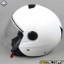 Helmet Jet Vito Palermo glossy white
