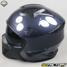 Modular helmet Vito Bruzano carbon