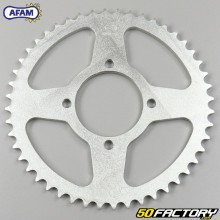 Rear sprocket 48 teeth steel 420 Yamaha Chappy,  FS1, RZ, DT MX 50 ... and MBK ZX Afam