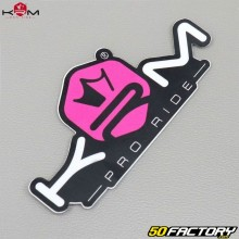 Sticker KRM Pro Ride pink