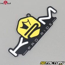 Sticker KRM Pro Ride jaune