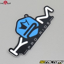 Sticker KRM Pro Ride blue