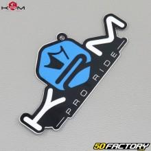 Sticker KRM Pro Ride bleu