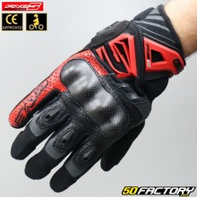 Gloves Five RS-C street black and red