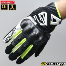 Gloves Five RS-C street black, white and neon yellow