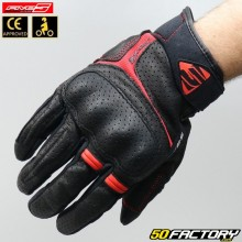 Gloves Street Five RS2  black and red