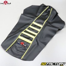 Seat cover Derbi Senda,  Gilera SMT,  RCR… (2000 to 2010) KRM Pro Ride yellow