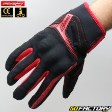 Gloves Street Five RS3  black and red