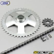Reinforced chain kit 12x44x122 Aprilia AF1, RS 50  Afam gray