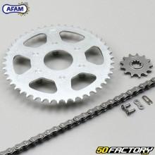 Reinforced chain kit 13x46x130 Aprilia Classic  50  Afam gray
