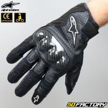 Gloves racing Alpinestars SMX-1 Air V2 black