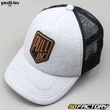 Gray Pull-in Truck Cap