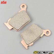 Husqvarna brake pads TE 125, KTM SX 200, Rieju MRX 450… SBS Carbon-Sinter