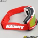 Máscara Kenny Ventury rojo pantalla roja iridio