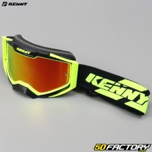 Goggles Kenny Ventury black and neon yellow red iridium screen