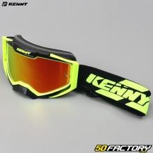Crossbrille Kenny Ventury mit neongelb-schwarzem Visier
