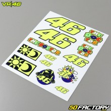 Sheet of stickers VR46 Classic 20x24cm