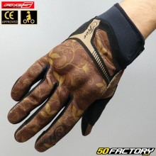 Women's gloves Five RS3 replica chestnuts