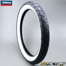 Tire 2 3 / 4-17 Mitas MC11 whitewalls moped