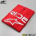 Alpinestars hoodie Ride 2.0 red and white